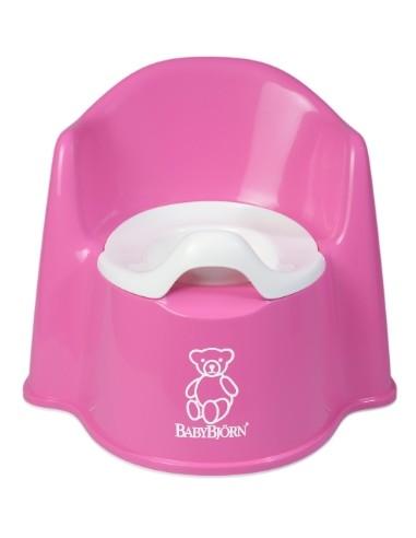 Babybjorn wc zetelpotje roze