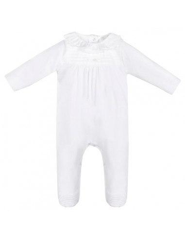 Patachou pyjama wit kraag wit kant