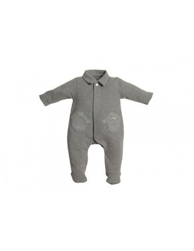 First pyjama grijs wantenzakjes
