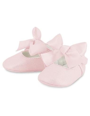 Mayoral ballerinas roze strik roze
