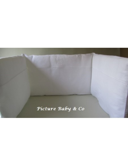 Bedbeschermer TP Royal white 70