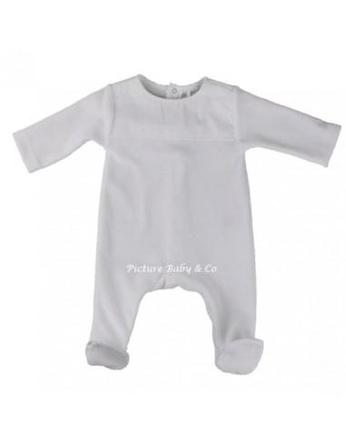 Laranjinha pyjama wit velours