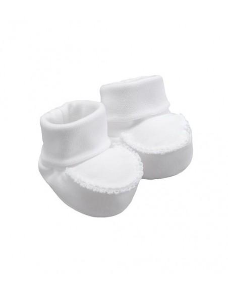 Laranjinha sokjes biesje wit
