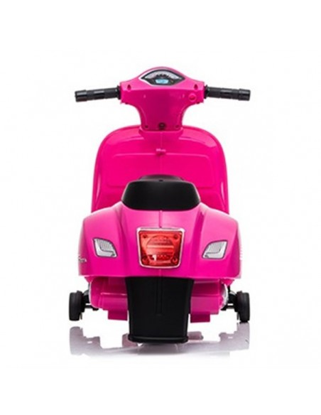 Scooter elektrisch Vespa roze