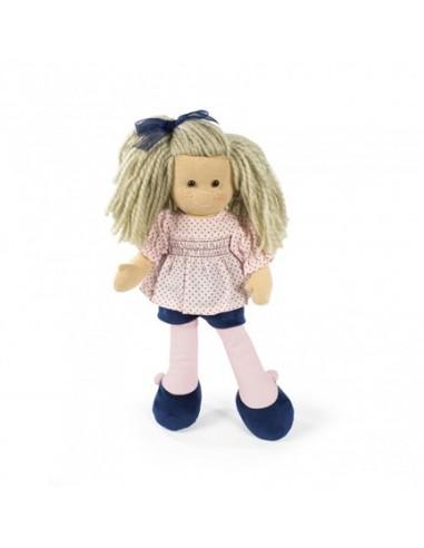 Pop La Nina roze bloes, dbl short