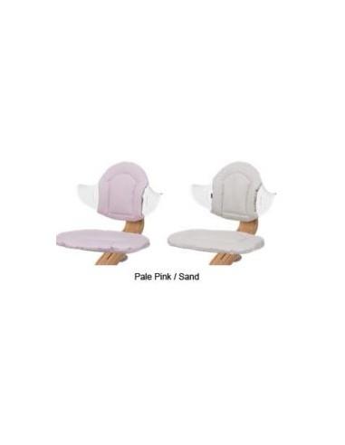 Nomi stoelkussen Pale Pink/Sand