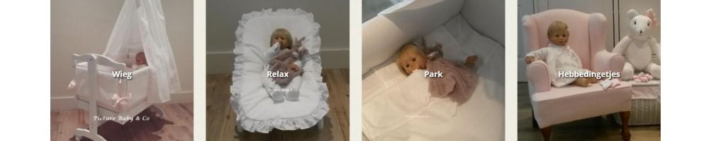 Baby in de woonkamer