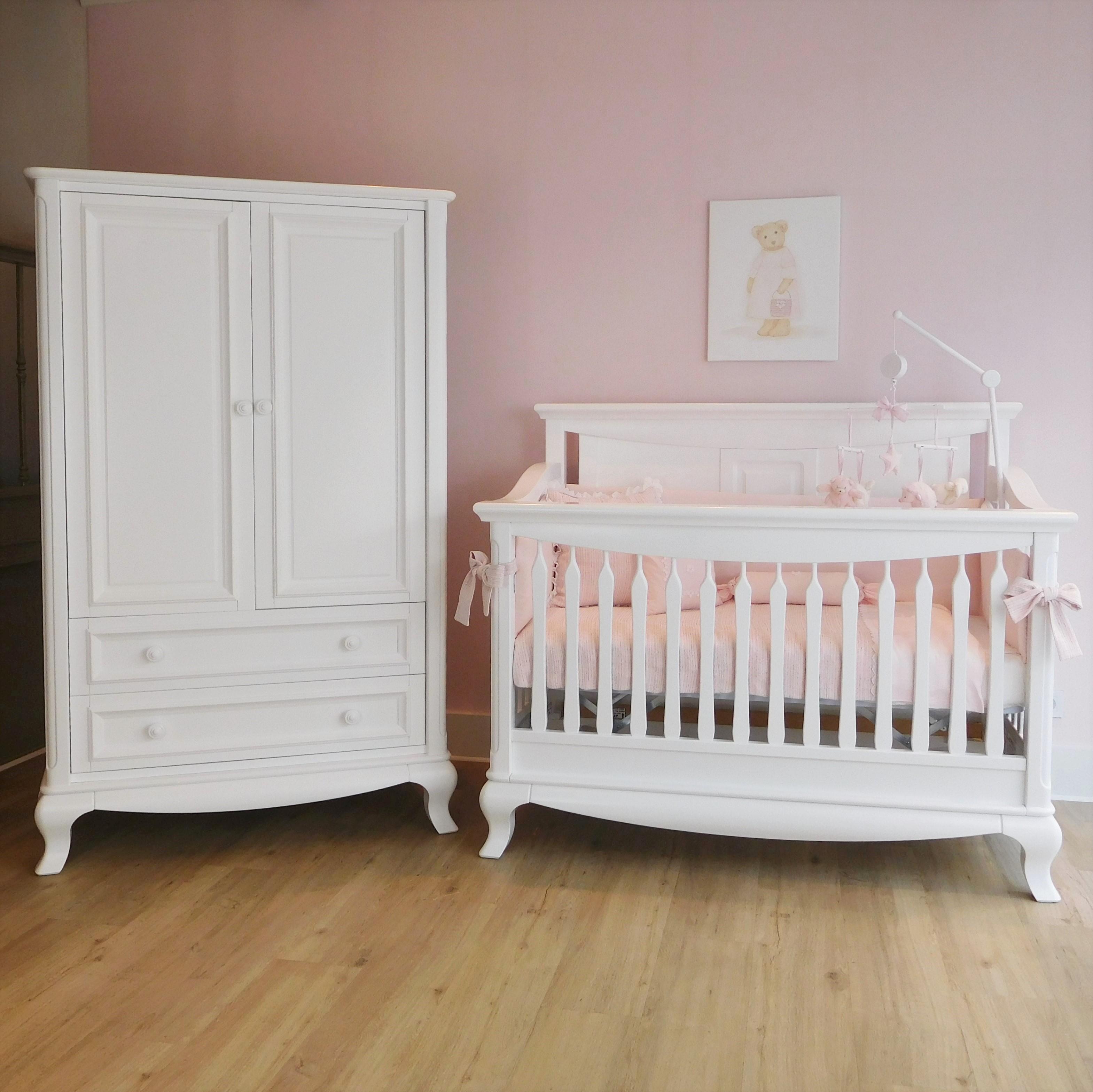 Romantische babykamer van Romina