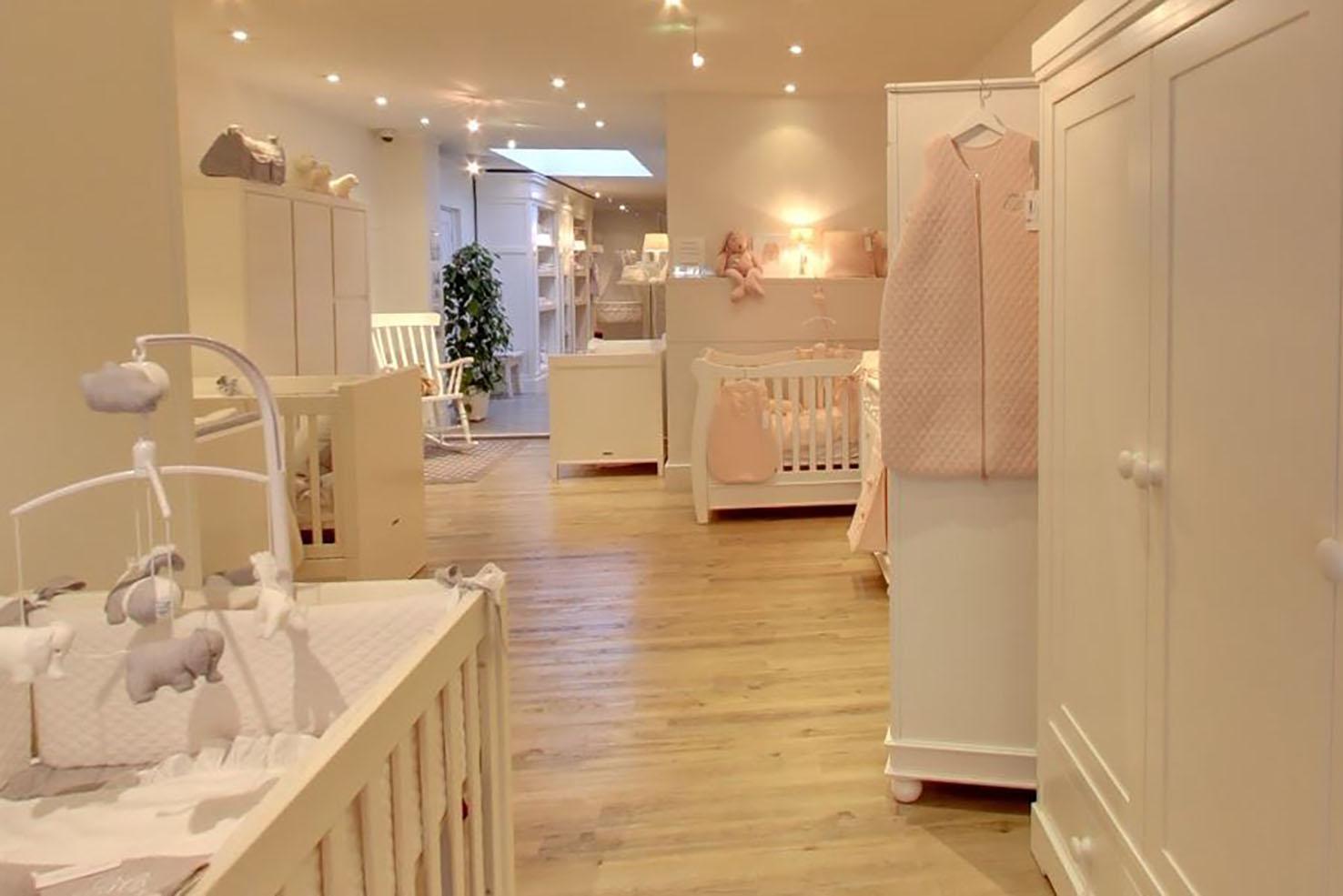 foto's kamers en kinderwagens Baby & Co babyspeciaalzaak